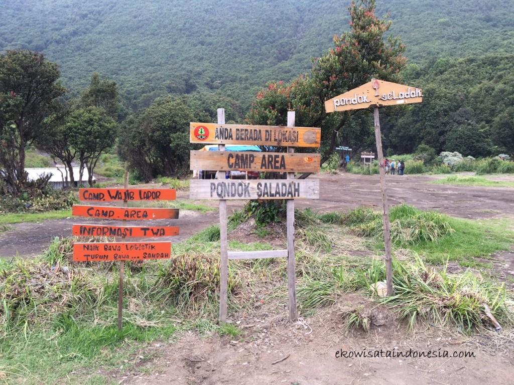 Area Camp Pondok Saladah