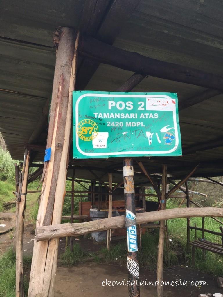 Pos 2 Turun Gunung