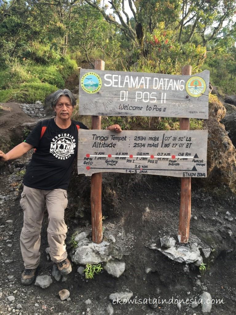 Pos II Pendakian Gunung Merapi